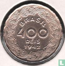 Brazilien 400 Réis 1942