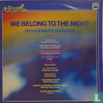 We Belong to the Night 14 Romantische Popsongs