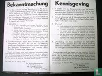 De oorlogskranten 12, Kennisgeving