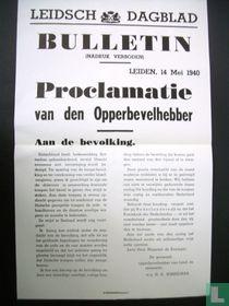 De oorlogskranten 4, Leidsch Dagblad bulletin