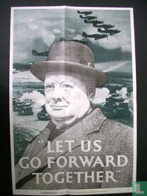 De oorlogskranten 9, Let us go forward together
