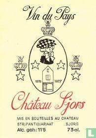 Château Sjors  vin du pays