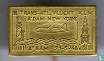 1e Trans-Atl. vlucht KLM A'dam-New York A'dam - 21-5-'46