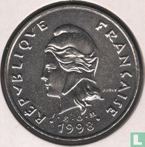 Frans-Polynesië 50 francs 1998