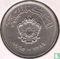 Libië 20 milliemes 1965 (jaar 1385)