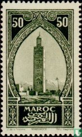 Kutubia Moschee Minarett