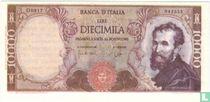 Italië 10.000 Lire (Senator Sigaren)