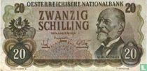 Oostenrijk 20 Schilling (Senator Sigaren)