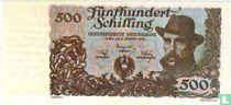 Oostenrijk 500 Schilling (Senator Sigaren)