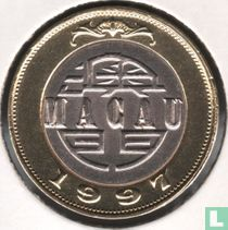 Macau 10 patacas 1997