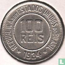 Brasilien 100 Réis 1934