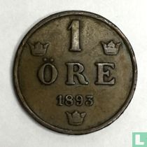 Zweden 1 öre 1893
