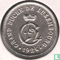 Luxembourg 10 centimes 1924