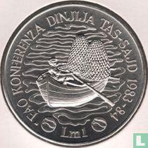 "Malta 1 lira 1984 ""FAO - World Fisheries Conference"""