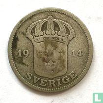 Schweden 50 Öre 1914