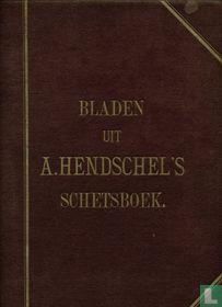Bladen uit A. Hendschel's schetsboek