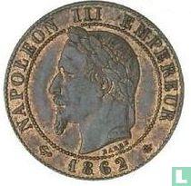 Frankrijk 1 centime 1862 (A)