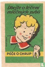 Dbejte o leceni mlecnych zubu