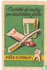 Cistete si zuby po kazdem jidle