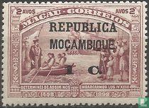 Vasco da Gama met opdruk