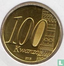 "Angola 100 kwanzas 2015 ""40th Anniversary of Independence"""