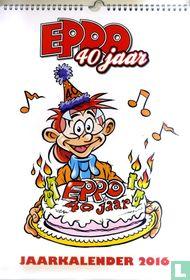 Eppo 40 jaar - Jaarkalender 2016