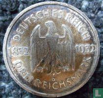 Duitse Rijk 3 mark 1932 (D)