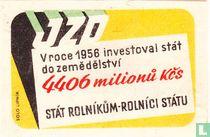 JZO - Vroce 1956 investoval stat do zemedelstvi