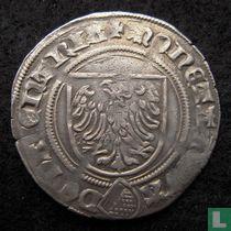 """Deventer witpenning 1472 """"dubbele groot"""""""