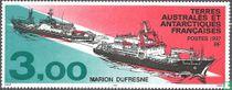 """Bevoorradingsschepen """"Marion Dufresne I"""" en """"Marion Dufresne II"""""""