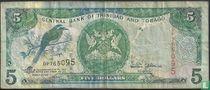 Trinidad en Tobago 5 Dollars
