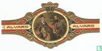 Los generales Lee y Jackson een caballo