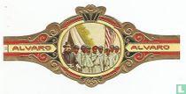 El Primer Batallón de Negros bajo Jefatura blanca