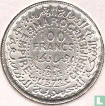 Marokko 100 francs 1953 (jaar 1372)