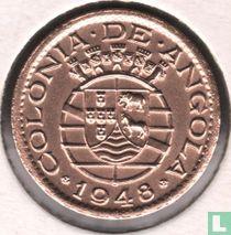 "Angola 20 centavos 1948 ""300th Anniversary - Revolution of 1648"""