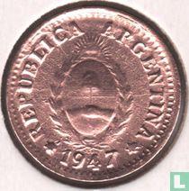Argentina 1 centavo 1947