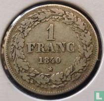België 1 franc 1840