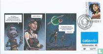 Stripenvelop 45: Tessa - Intergalactische agente