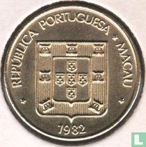 Macau 20 avos 1982