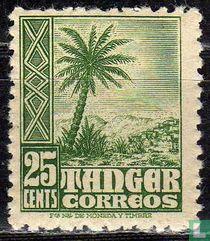 Spaanse post Tanger