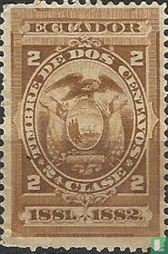 1881 Steuermarke der Klasse I