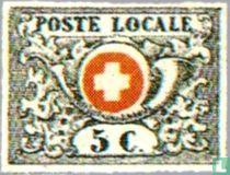 Cor postal et armoiries