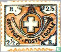 Post Horn and Coat of Arms