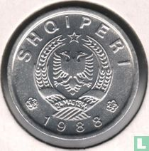 Albanien 10 Qindarka 1988