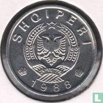 Albania 5 qindarka 1988