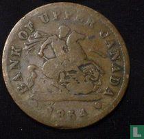 Upper-Canada  1 penny  1854