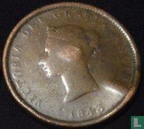 Nieuw-Brunswijk 1 penny 1843