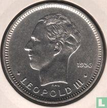 België 5 francs 1936 (NLD - muntslag)