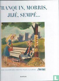 Franquin, Morris, Jijé , Sempé... - 200 Couvertures inédites pour le journal Le Moustique