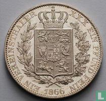 Oldenburg 1 vereinstaler 1866